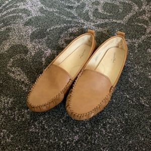 Women's Kirby Faux Leather Moccasin Flat Loafers